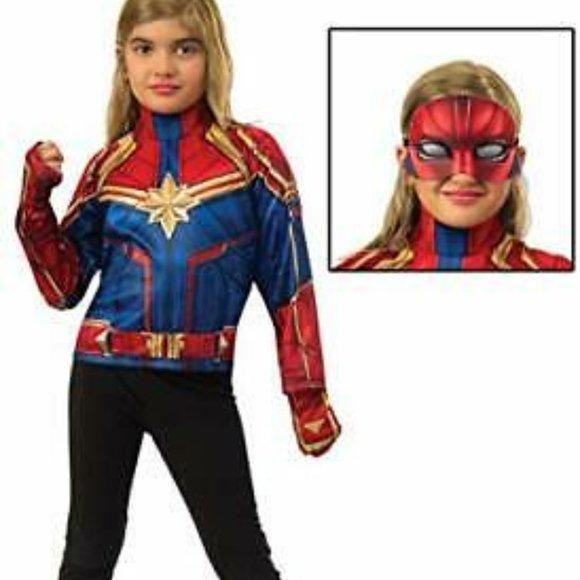 Captain Marvel Deluxe Dress-Up Set Imagine Rubies